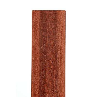 7/16 in. x 6 1/2 in. x 69 in. Heartwood Square Top Composite Fence Picket