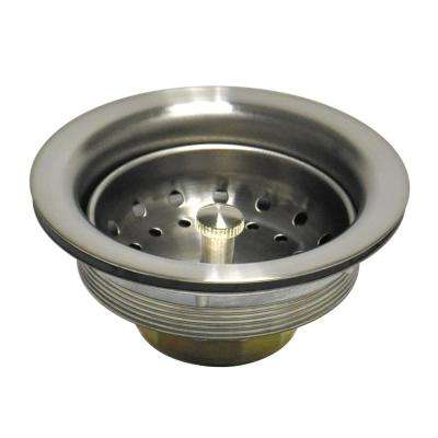 3-1/2 in. Metal Basket Strainer