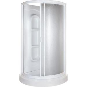 38 In X 38 In X 78 In Shower Kit In White 455000 The