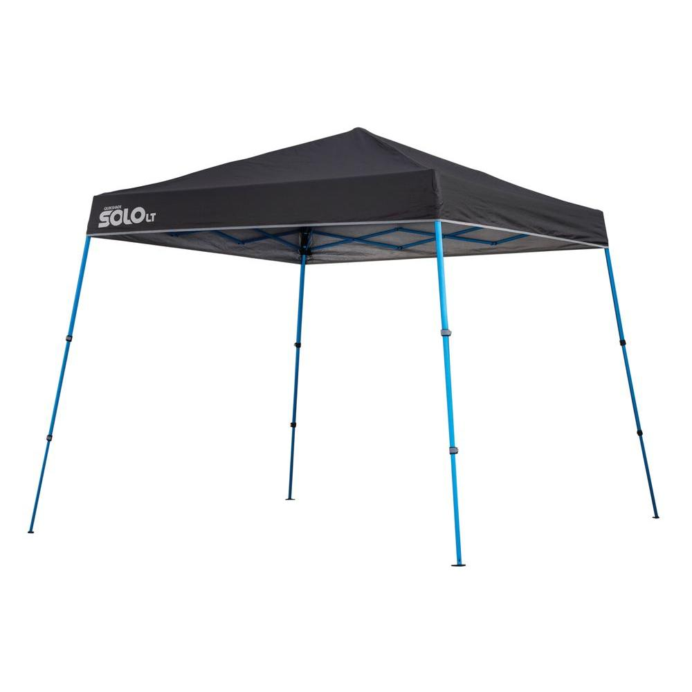 Quik Shade 9 ft. x 9 ft. Charcoal Aluminum Compact Instant Canopy-159371 - The Home Depot  sc 1 st  The Home Depot & Quik Shade 9 ft. x 9 ft. Charcoal Aluminum Compact Instant Canopy ...