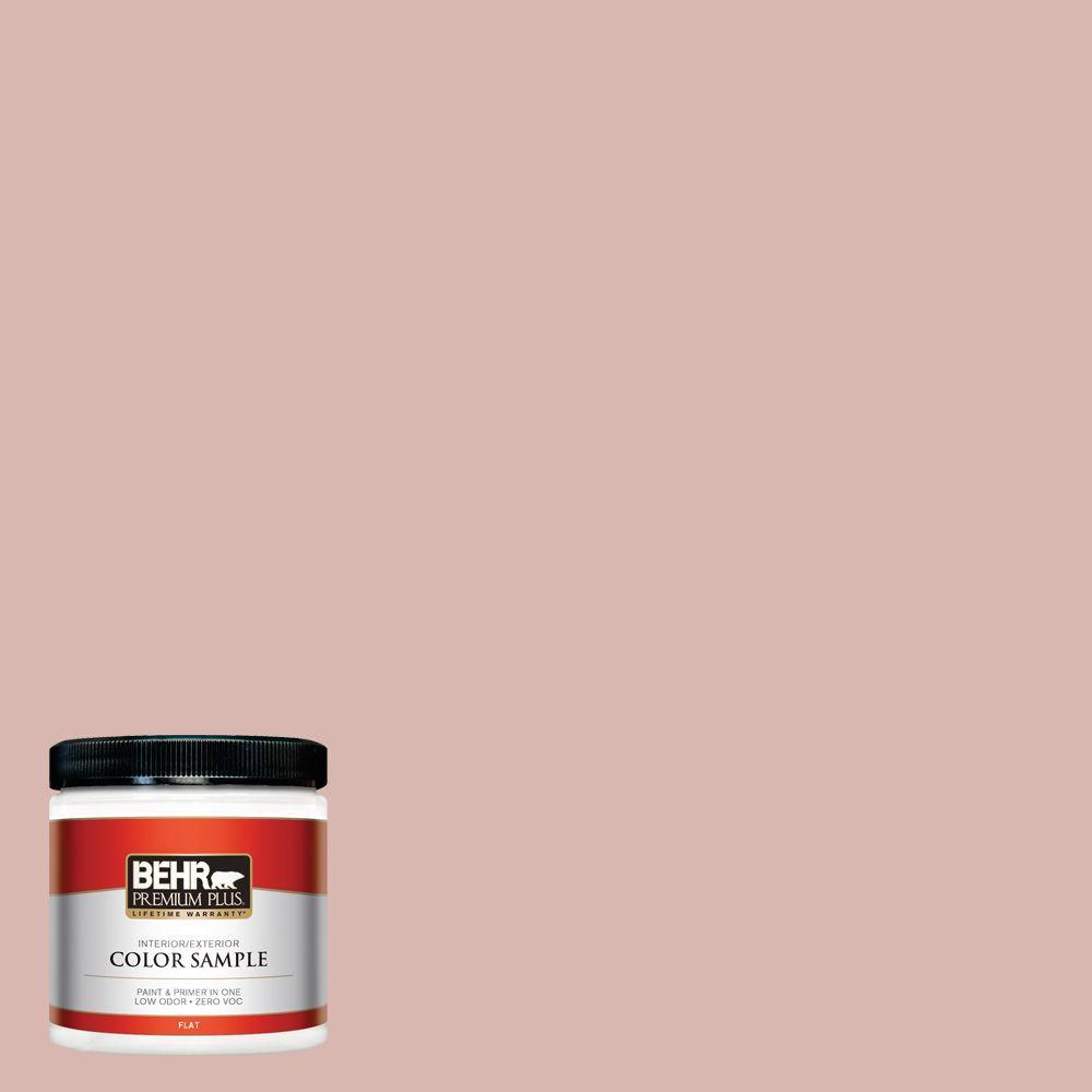 BEHR Premium Plus 8 oz. #170E-3 Bridal Rose Interior/Exterior Paint Sample