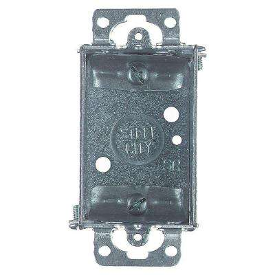 1-Gang Steel Old Work Switch Box (Case of 25)