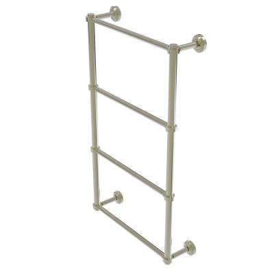 Dottingham Collection 4-Tier 24 in. Ladder Towel Bar in Polished Nickel