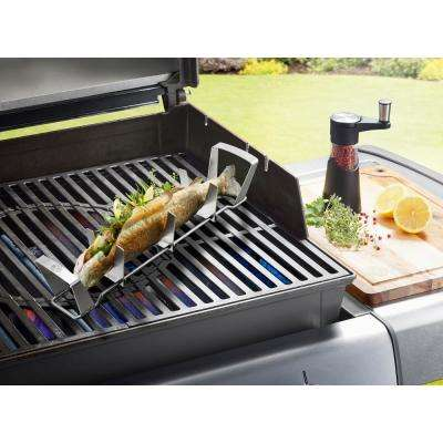 BBQ Adjustable SS Fish Rack