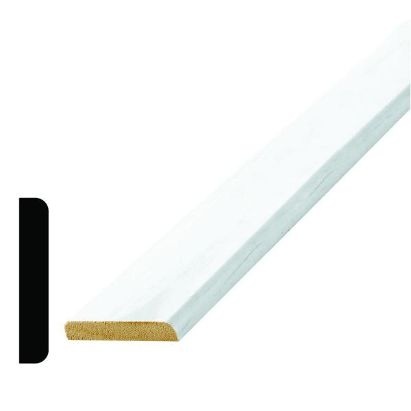 WM 972 3/8 in. x 2 in. x 96 in. Wood Primed Finger-Jointed Mullion Moulding