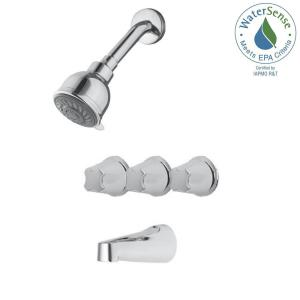 price pfister 3 handle tub shower faucet. Pfister 3 Handle Tub and Shower Faucet Trim Kit in Polished Chrome  Valve Not Included G01 9110 The Home Depot