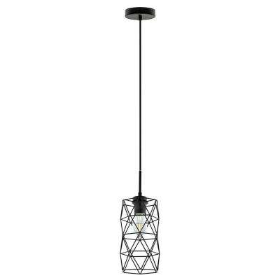 Estevau 2 1-Light Matte Black Pendant