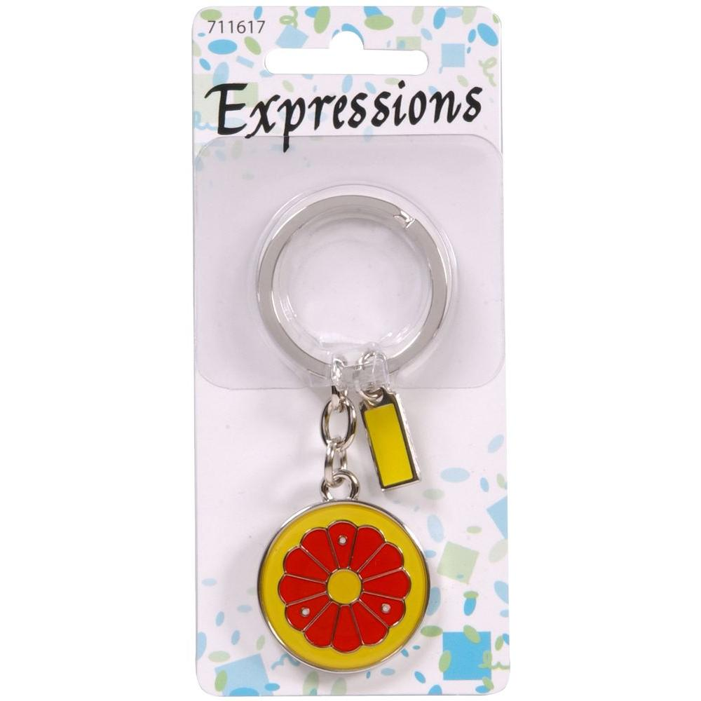 The Hillman Group Grapefruit Key Chain (3-Pack)