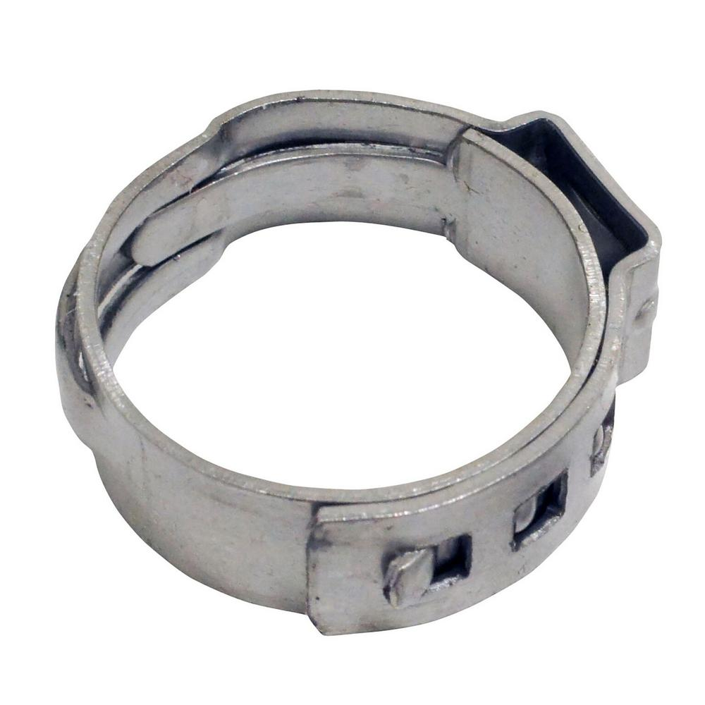 3/4 in. Stainless Steel PEX Barb Pinch Clamp (100-Pack)