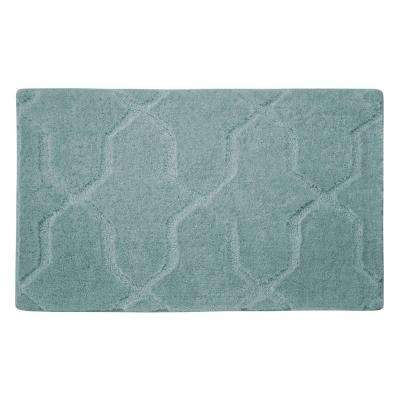 Pearl Drona Sea Foam 20 in. x 32 in. Bath Mat