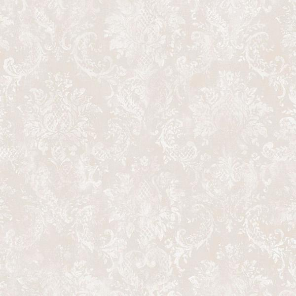 Norwall Canvas Damask Wallpaper SD36100