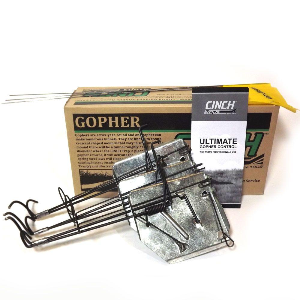 CINCH Traps 3 In. Medium Gopher Kit-MGK-08