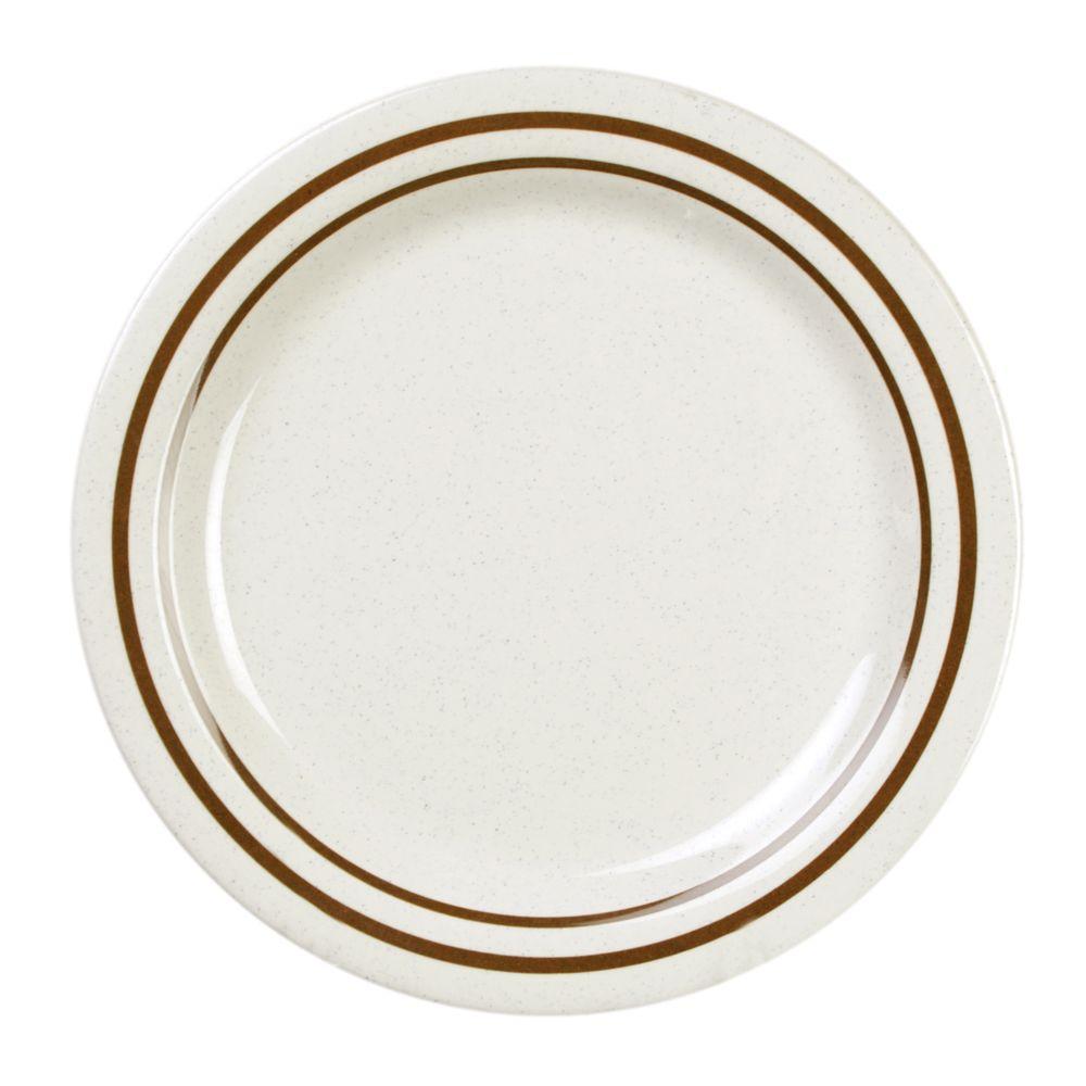 Restaurant Essentials Arcacia 10 in. Dinner Plate (12-Piece)