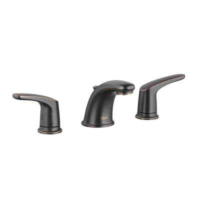 Colony Pro 8 in. Widespread 2-Handle Low-Arc Bathroom Faucet with Pop-Up Drain Assembly in Legacy Bronze