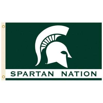 NCAA 3 ft. x 5 ft. Michigan State Flag