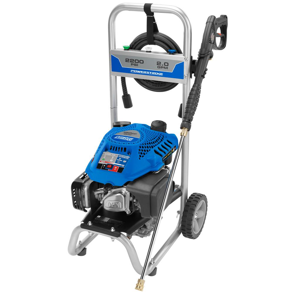 PowerStroke 2200-PSI 2.0-GPM 150cc Gas Pressure Washer