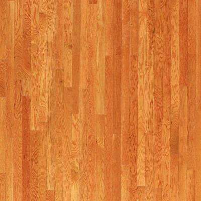 Oak Toffee Hardwood Flooring - 5 in. x 7 in. Take Home Sample