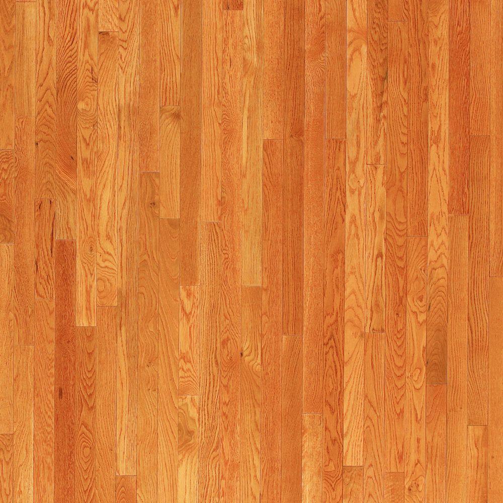 Oak Toffee Solid Hardwood Flooring - 5 in. x 7 in. Take Home Sample