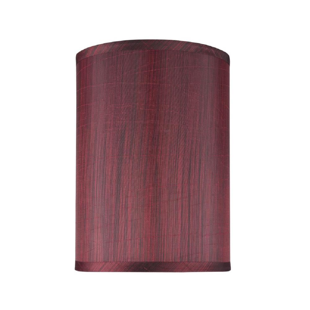Aspen Creative Corporation 8 In X 11 Dark Red Hardback Drum Cylinder