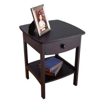 Claire Accent Table Black Finish