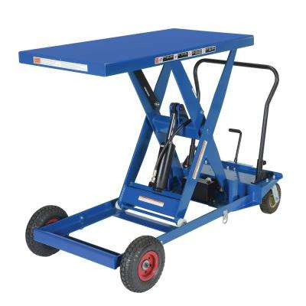 400 lb. Scissor Cart Rough Terrain