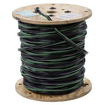 500 ft. 2-2-4-6 Black Stranded AL MHF USE-2 Cable