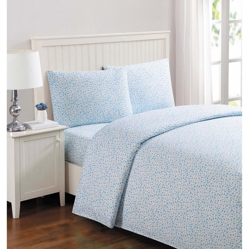 Kids Deep Blue Sea Multi Queen Sheet Set
