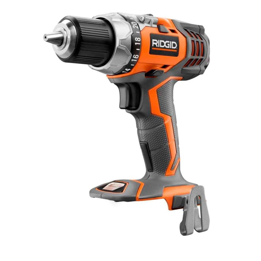 RIDGID 18-Volt X4 Compact Cordless Drill Console (Tool Only)
