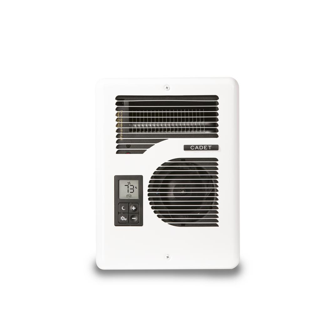 Cadet EnergyPlus 1600Watt 120240Volt InWall Electric Wall Heater