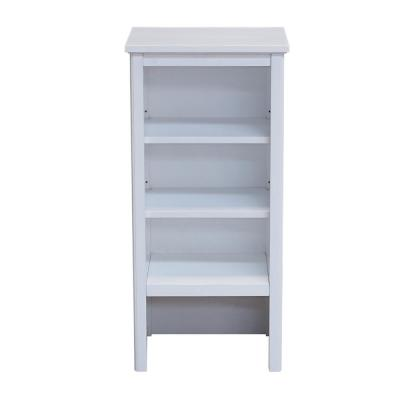 Dorset 17 in. W x 36 in. H Freestanding Shelving Hutch in White