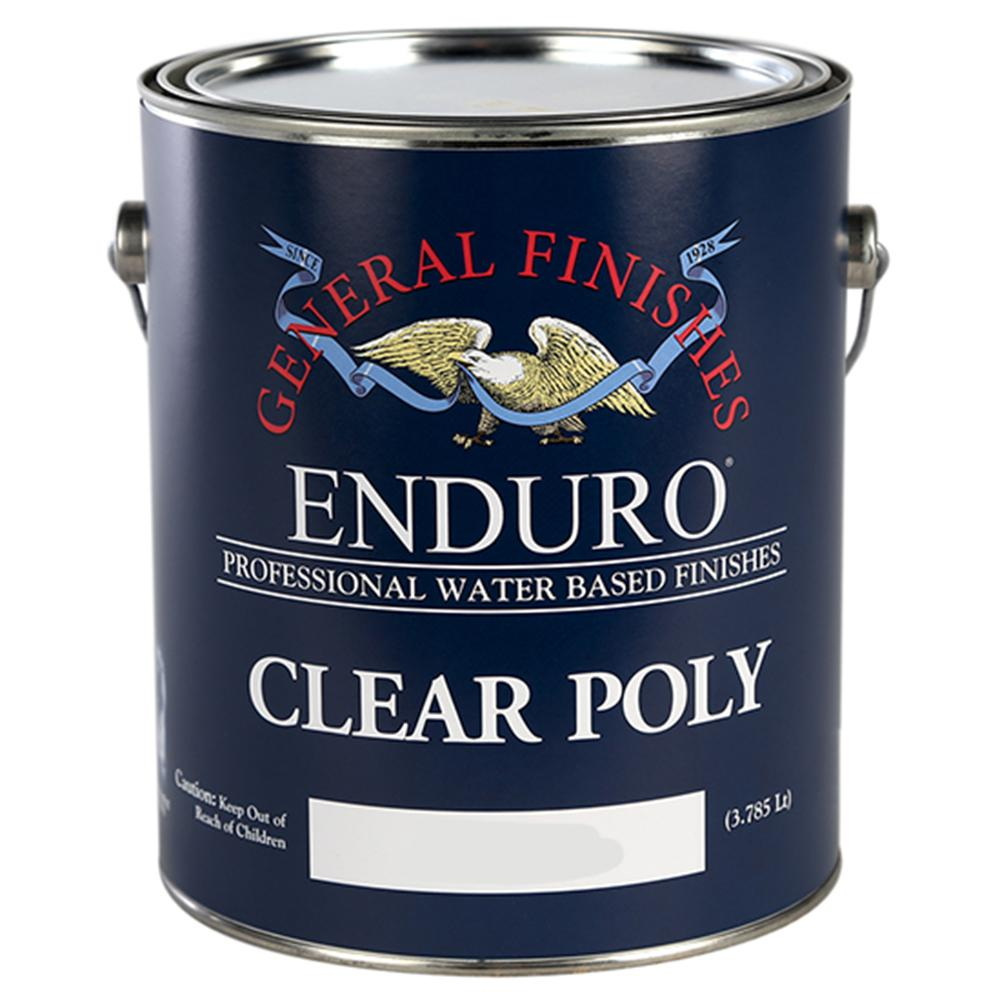 General Finishes 1 gal. Satin Enduro Clear Poly Interior Topcoat