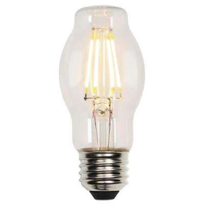 40W Equivalent Soft White BT15 Dimmable Filament LED Light Bulb