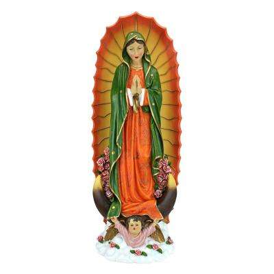 33.5 in. H The Virgin of Guadalupe Religious Large Garden Statue