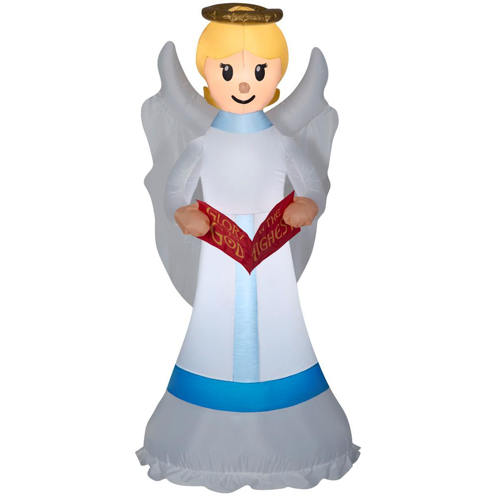 Holiday 6 ft. pre-liter Inflatable Angel A