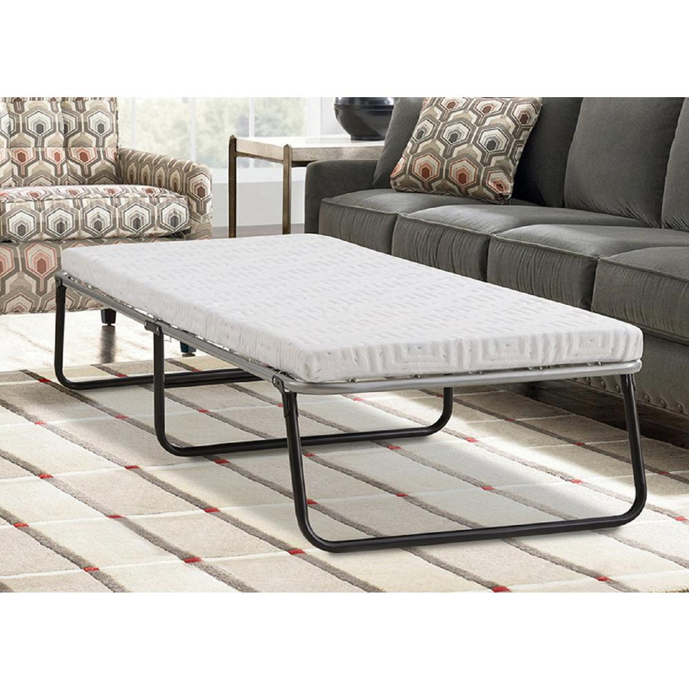 Twin Mattress Vs Single: Lane Twin Steel Single Guest Foldaway Bed-IMCEL033S