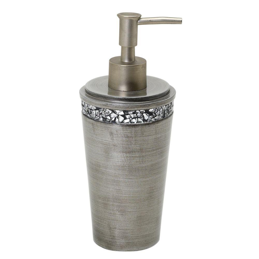 India Ink Altair Lotion Dispenser in Pewter