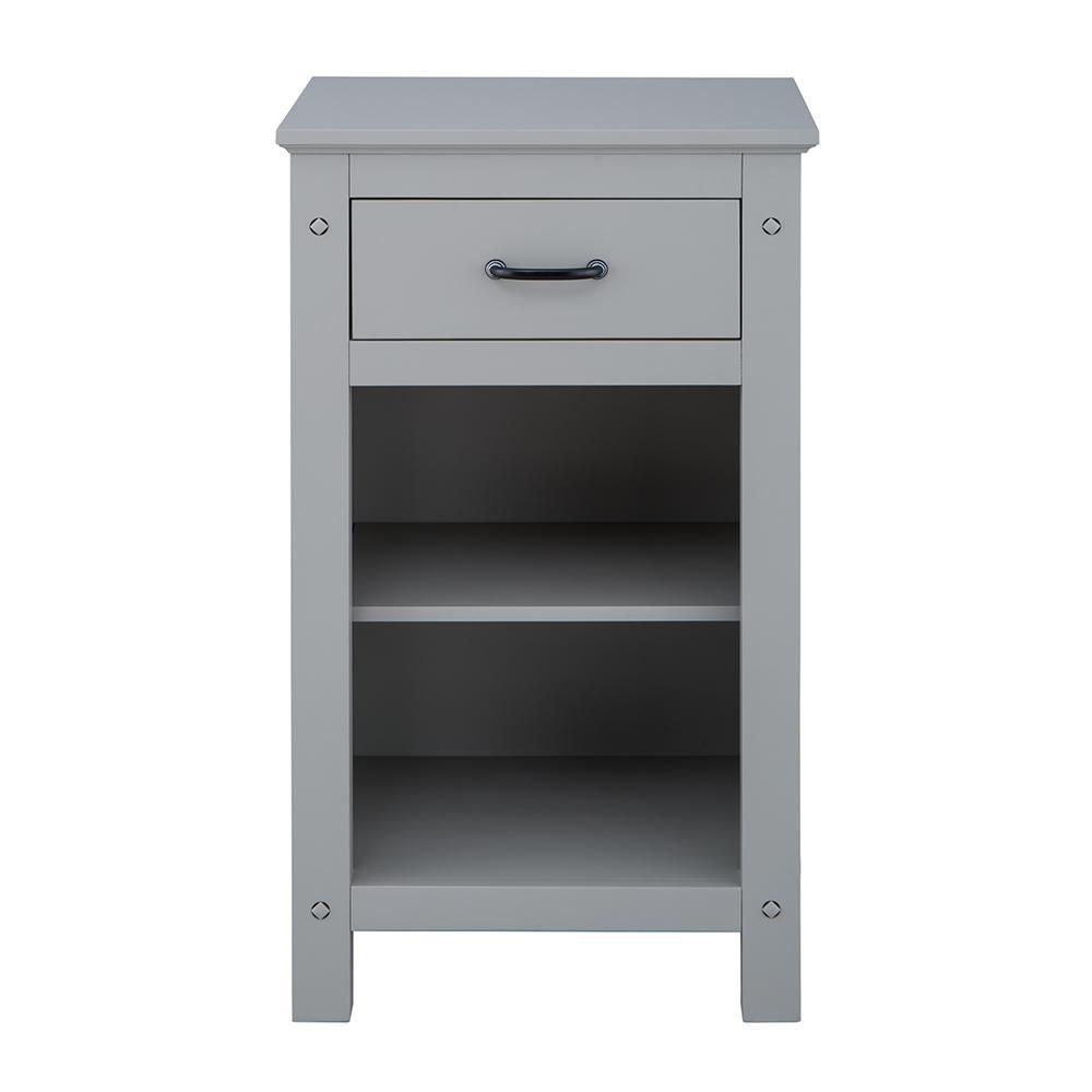 Avondale 20 in. W x 35 in. H Floor Cabinet in Grey