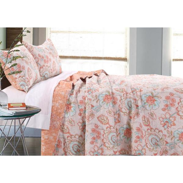 Barefoot Bungalow Cordelia 3-Piece Full/Queen Quilt Set GL-1703BMSQ