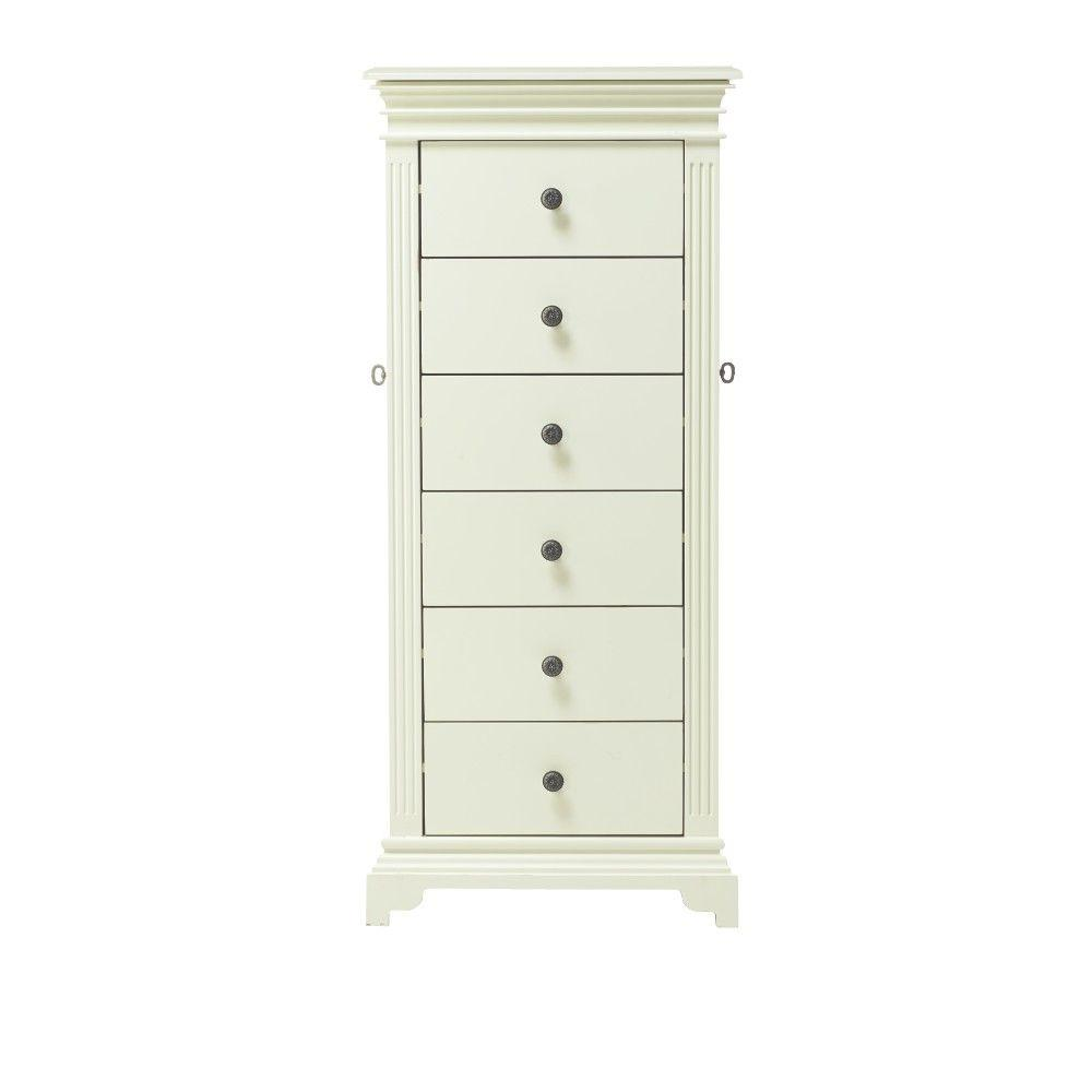 Home Decorators Collection Tunis 6Drawer Jewelry Armoire in Mint