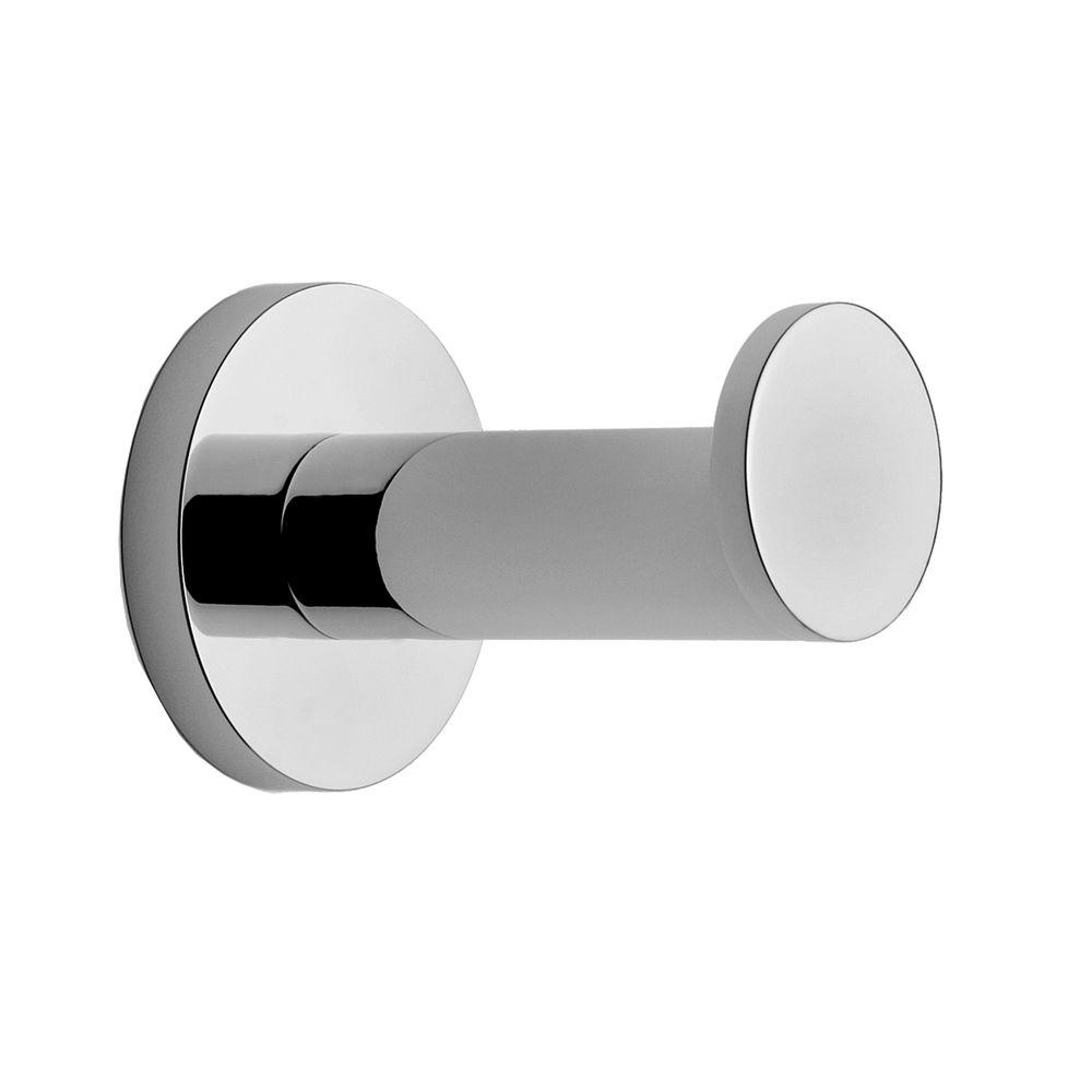 Sine Single Robe Hook in Polished Chrome