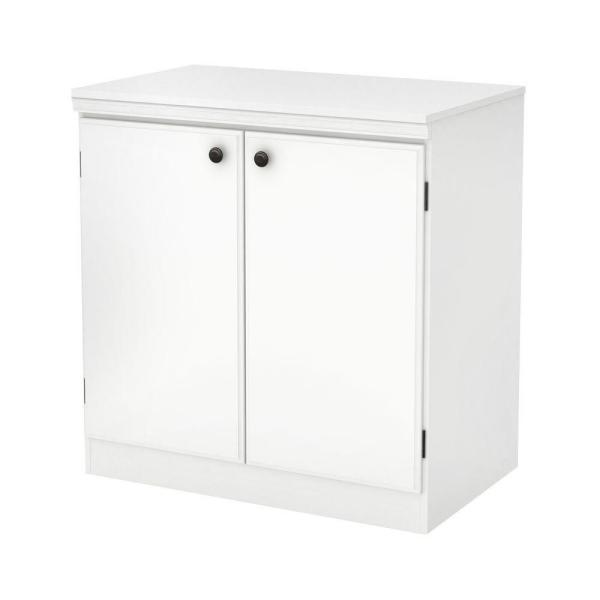 Morgan Pure White Storage Cabinet
