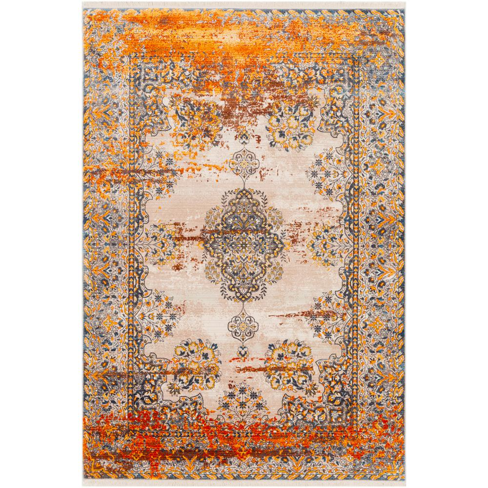 Artistic Weavers Theia Saffron 7 Ft 10 In X 10 Ft 3 In Distressed Area Rug S00161011201 The Home Depot