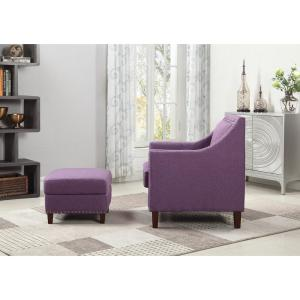Marvelous Purple Accent Chair With Storage Ottoman 92013 16Pl The Gamerscity Chair Design For Home Gamerscityorg