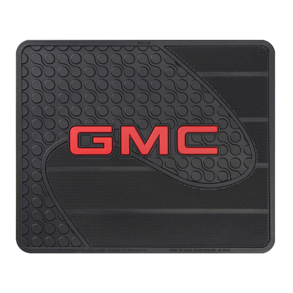 GMC Heavy Duty Vinyl 17 in. x 14 in. Utility Car Mat