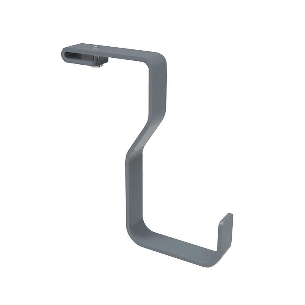 VersaRac 2.2 lb. Overhead Accessory Garage Hook Kit in Gray (2-Pack)