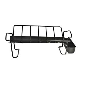 Click here to buy Charcoal Companion Non-Stick Roasting Rack with Juice Reservoir by Charcoal Companion.