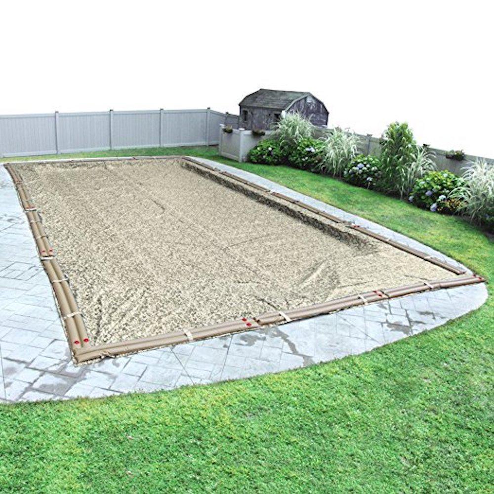 Robelle desert camo 18 ft x 40 ft pool size rectangular for 18 ft garden pool