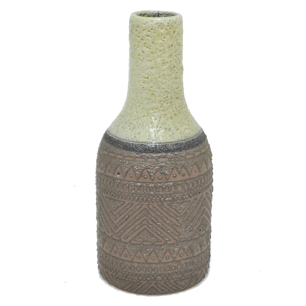 Three hands brown tribal print ceramic decorative vase 43171 the three hands brown tribal print ceramic decorative vase reviewsmspy