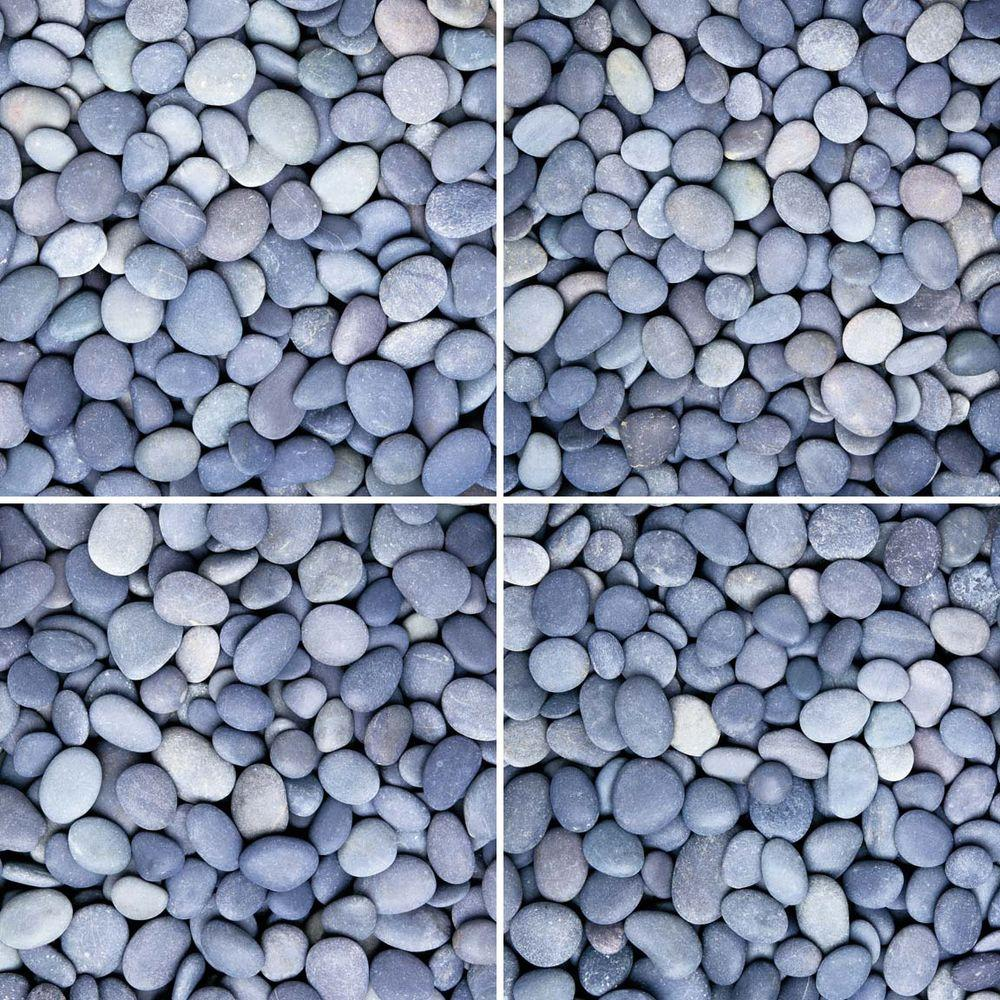 imagine tile River Rocks Series 12 in. x 12 in. Matte Finish Ceramic ...