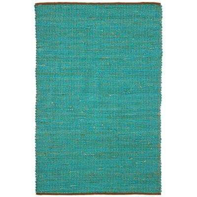 Zola Blue/Charcoal 8 ft. x 11 ft. Indoor Area Rug